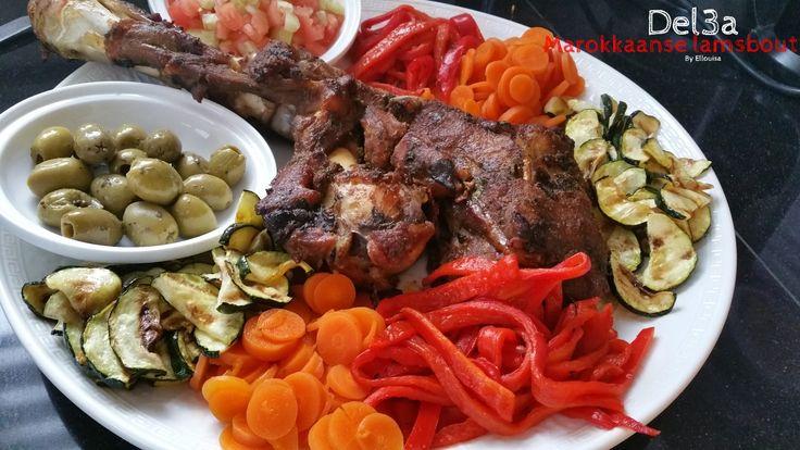 Ellouisa: Del3a - Marokkaanse lamsbout uit de oven