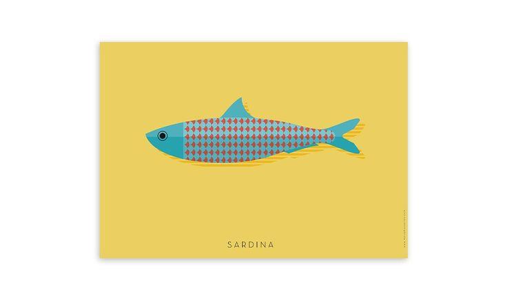 MONOQI | Sardine Poster
