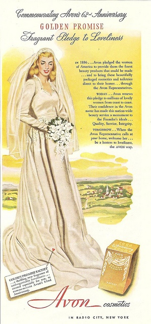 1948 avon cosmetics magazine ad by CapricornOneVintage, via Flickr