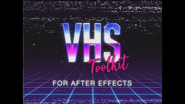 Vhs Toolkit For After Effects After Effects After Effects Intro Templates After Effects Intro