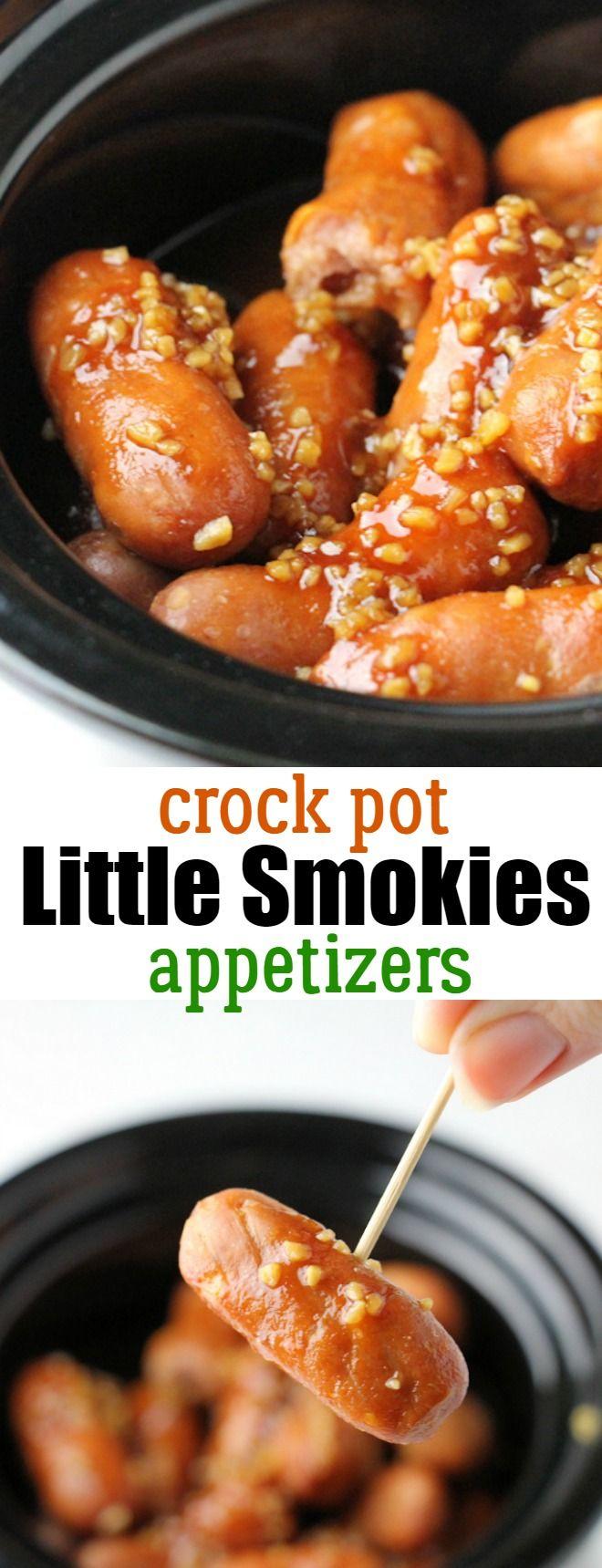 Little Smokies Crock Pot Recipe: Easy Little Smokies Appetizers that your guests will love!
