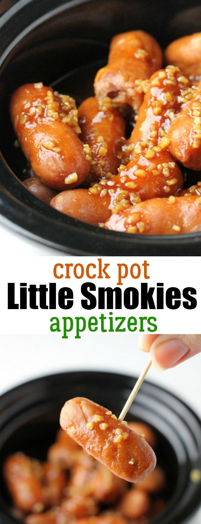 Little Smokies Crock Pot Recipe: Easy Little Smokies Appetizers that your guests will love!
