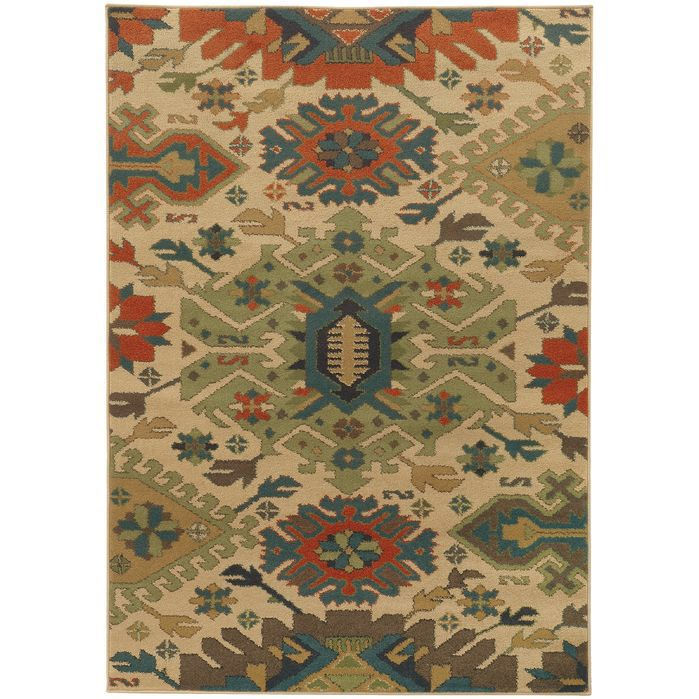 400 Villa Southwest Tribal Area Rug