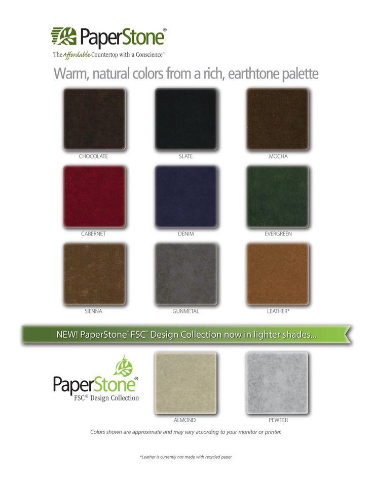 Paperstone Colour Palette