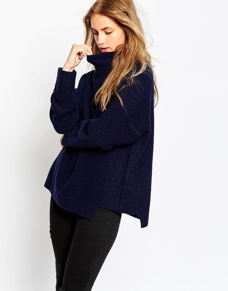 Image 1 of ASOS Sweater In Mohair