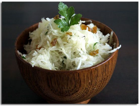 Betterave blanche en salade : la recette facile
