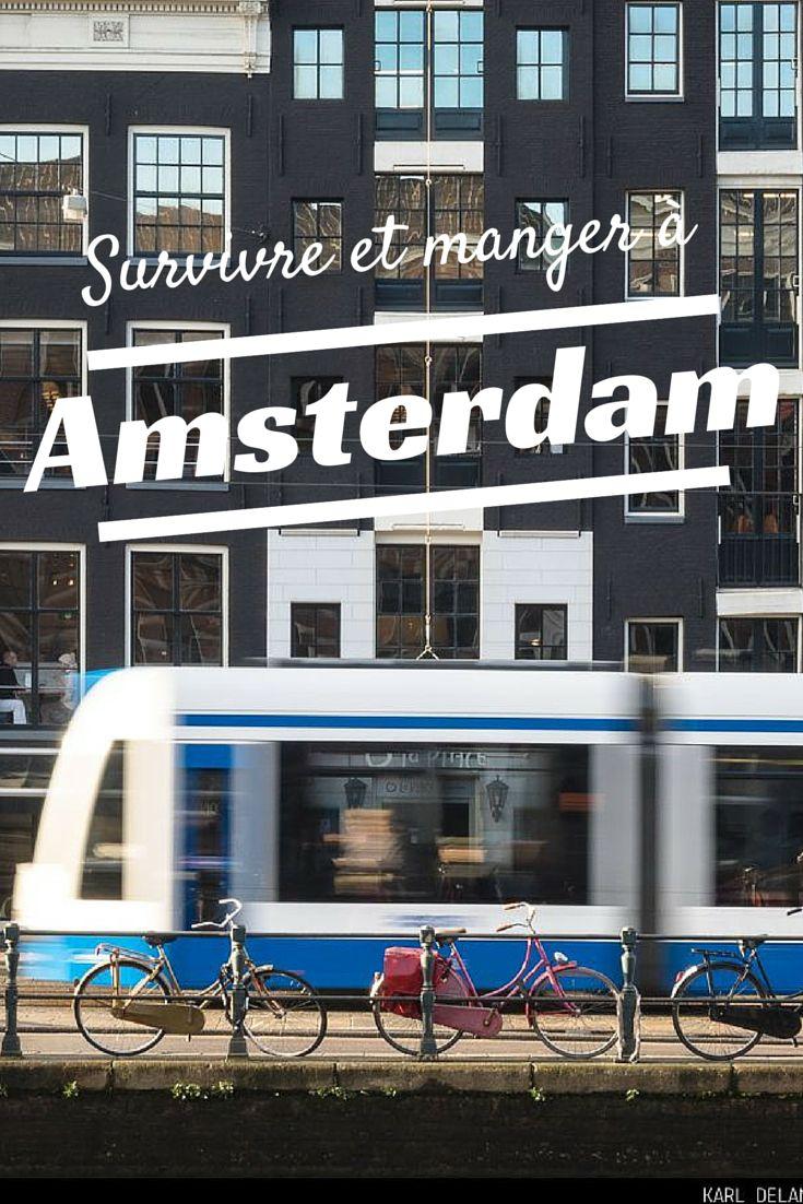 Découvrez nos bons plans et nos adresses gourmandes à Amsterdam !