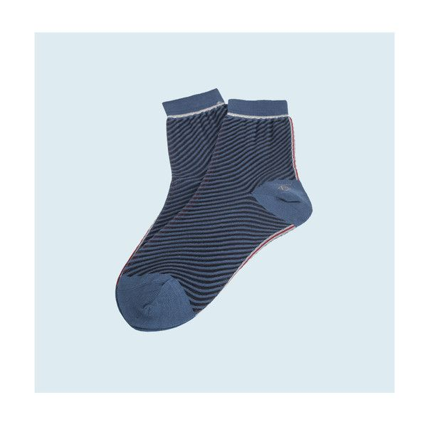 Women Patterned Socks Cotton / Nylon / Polyester Color : Blue Editor's Note  : Marcomonde's socks are the good and simple solution to awaken a entire