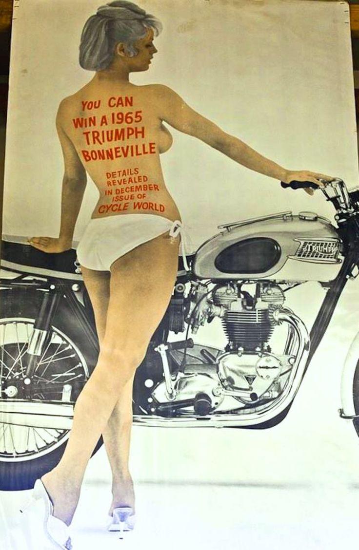 Cafune Triumph Motorcycle Ads Amp Artwork Triumph