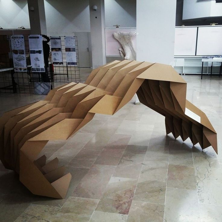 folded structure, Erciyes Univesirt Structural Design Course 2014-2015, Student' work  photo by: Fulya Atarer