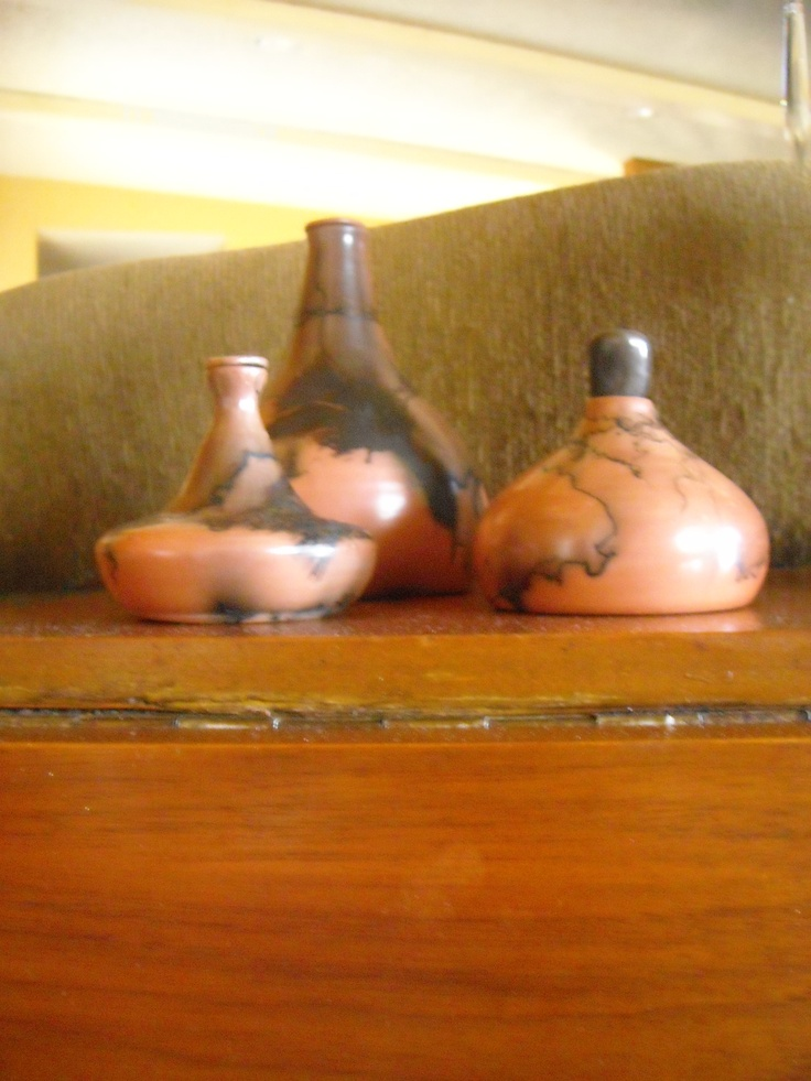 red clay bottles with stoppers