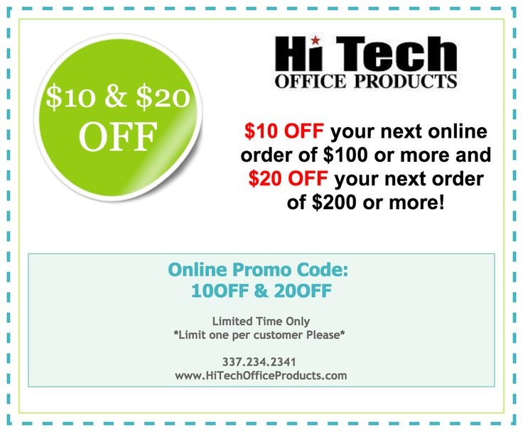 $10 U0026 $20 OFF Your Next Office Supply Order! #Coupon