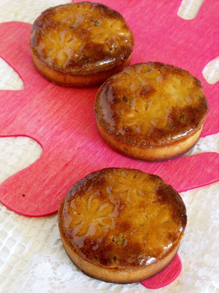 Tartelettes amandines et pépites de chocolat Grands ronds