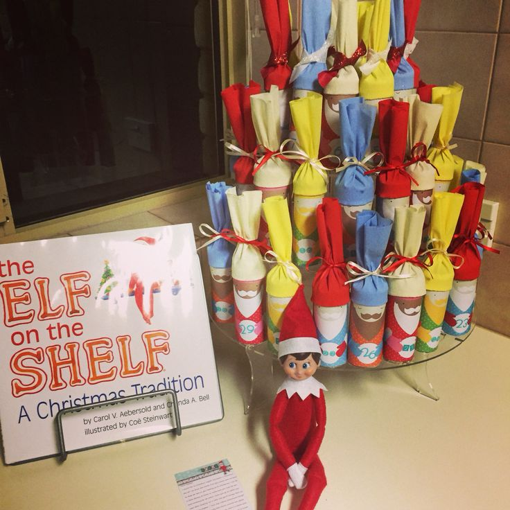 First night; arrival with little letter... #elfontheshelf