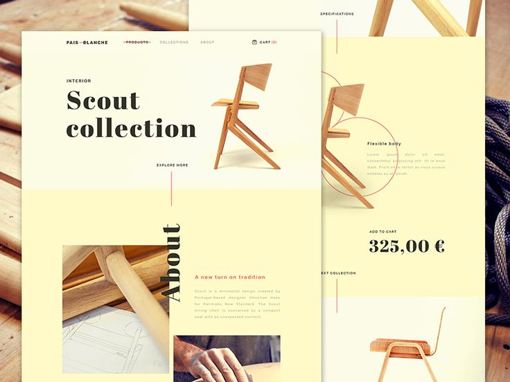 Pais Blanche - Product Page