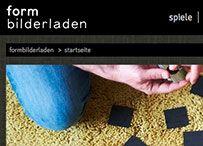 neuer Webshop für formbilderladen: hochwertige Geschenke, Spiele und Wohnaccessoires für Design- und Fotografie-Begeisterte.