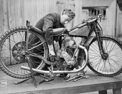 Speedway Motorcycle Racing Bikes: Vintage Speedway Motorcycle Racing...