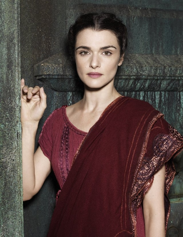 "Rachel Weisz in ""Agora"" ~ now why don't we wear gauzy tunics anymore?"