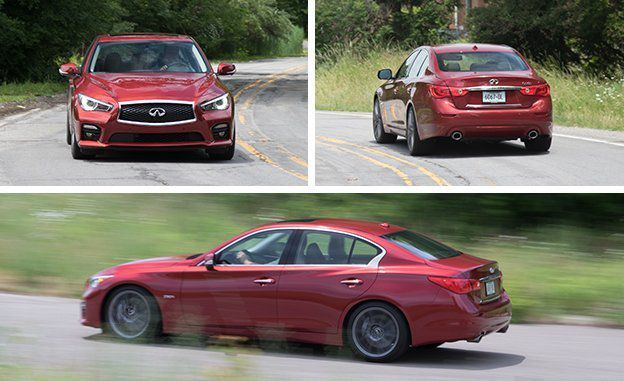 Check out the Infiniti Q50 Red Sport 400 review at CARandDRIVER.com.  Use our Car Buying Guide to research Infiniti Q50 Red Sport 400 prices, specs, photos, videos, and more.