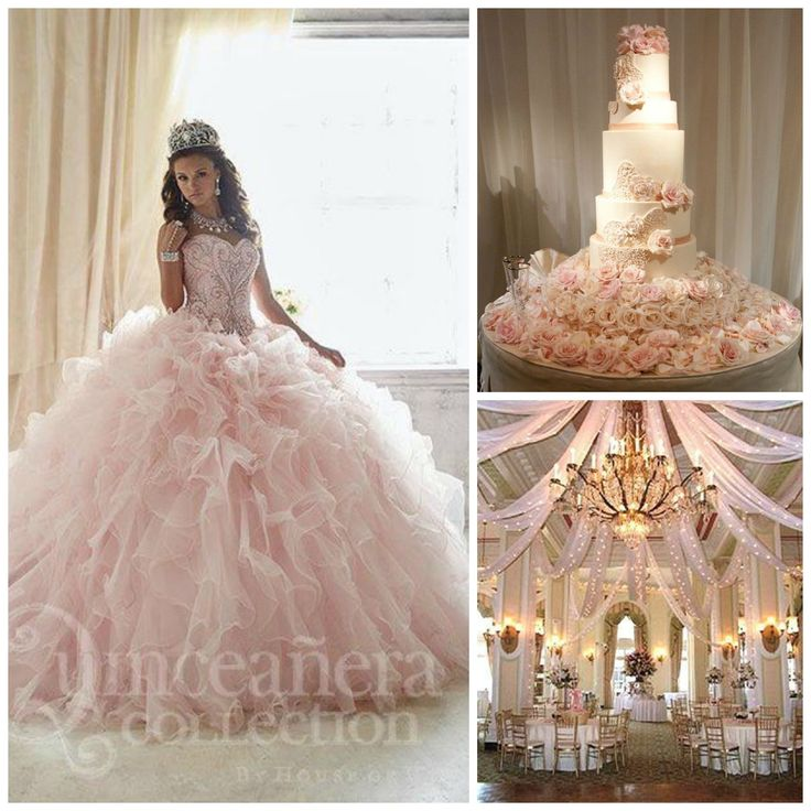 Elegant Pink Theme | Princess Theme | Quinceanera Theme Ideas | Wedding Ideas |