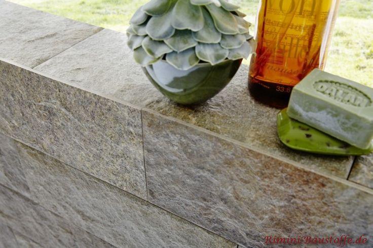 Die Optik und Haptik ist mit einem Naturstein zum verwechseln ähnlich, Riemchen stehen dem Naturstein in nichts nach. Riemchen Feinsteinzeug Metro Madid
