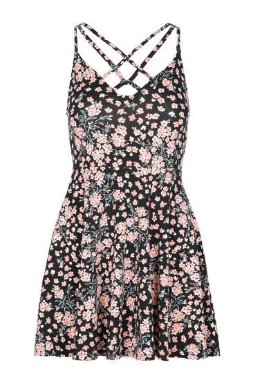 Floral Dress with Cross Front #newin #fashion #TALLYWEiJL