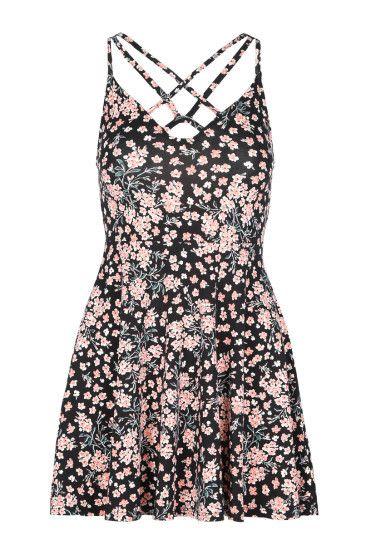 Floral Dress with Cross Front #newin #fashion #TALLYWEiJL