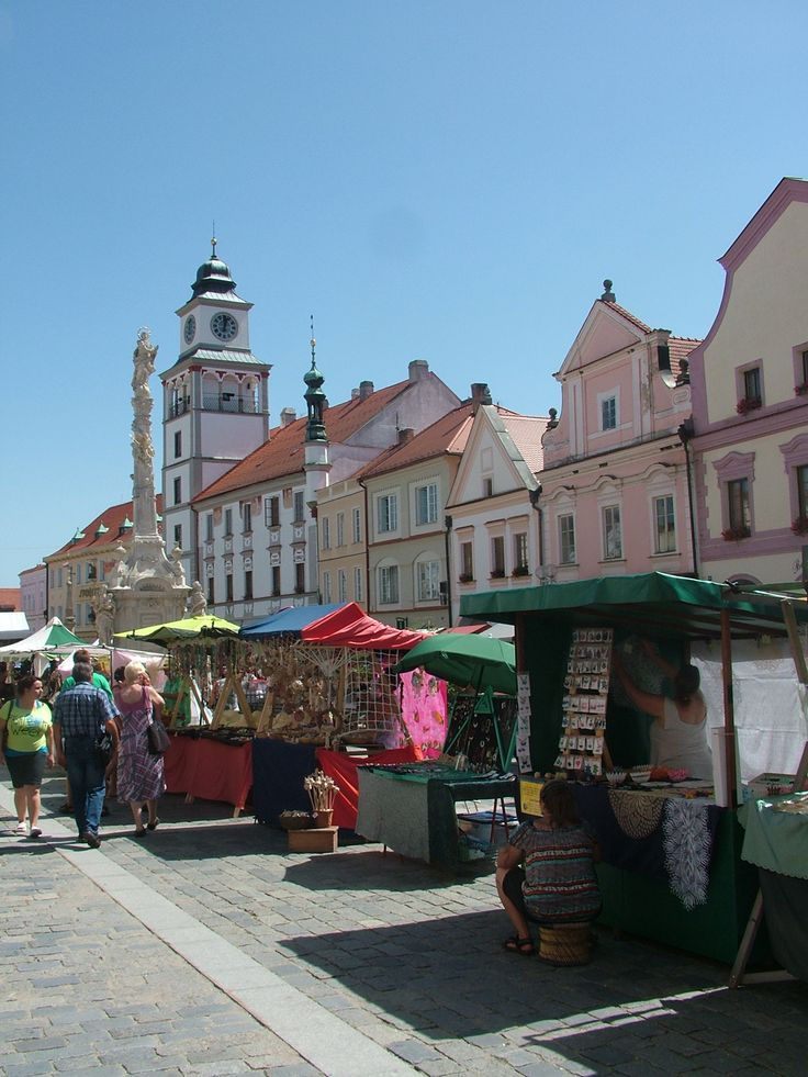 Třeboň Square, Czech Republic