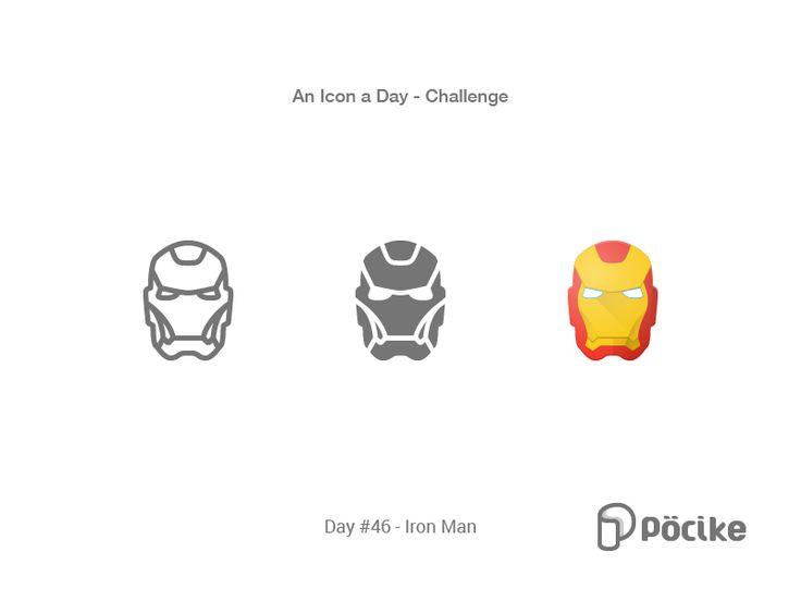 Icon Challenge Day 46 Iron Man