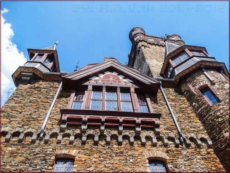 https://flic.kr/p/KfmjWG   Cochem's Castle RAW (edit)   the information about the castle dates back to the twelfth century. After many years ago to be downgraded as ruin by destruction, An rich Berlin industrial brought the castle and revived it as the neo-gothic masterpiece we still know today.  Before&After Version:  www.flickr.com/photos/116827835@N07/28490815195/in/photos...