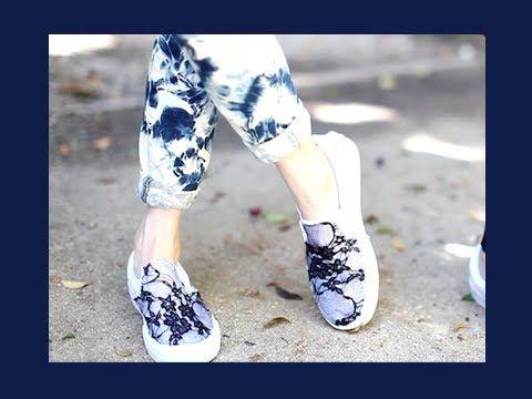 LEAF: DIY Lace Vans + GIVEAWAY!