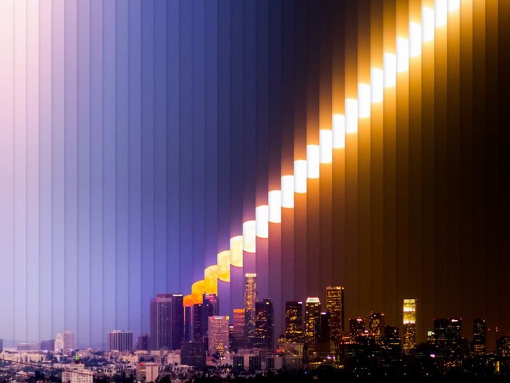 Dan Marker-Moore creates a riff on time-lapse photography by compressing all of the takes into a single image.