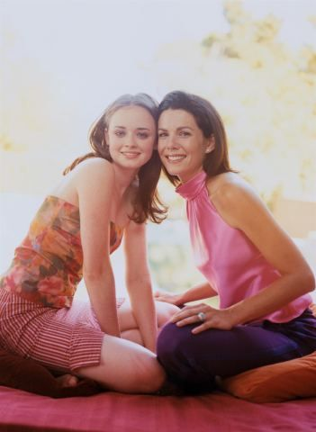 Gilmore Girls debuted in 2000 and ran through until 2007.