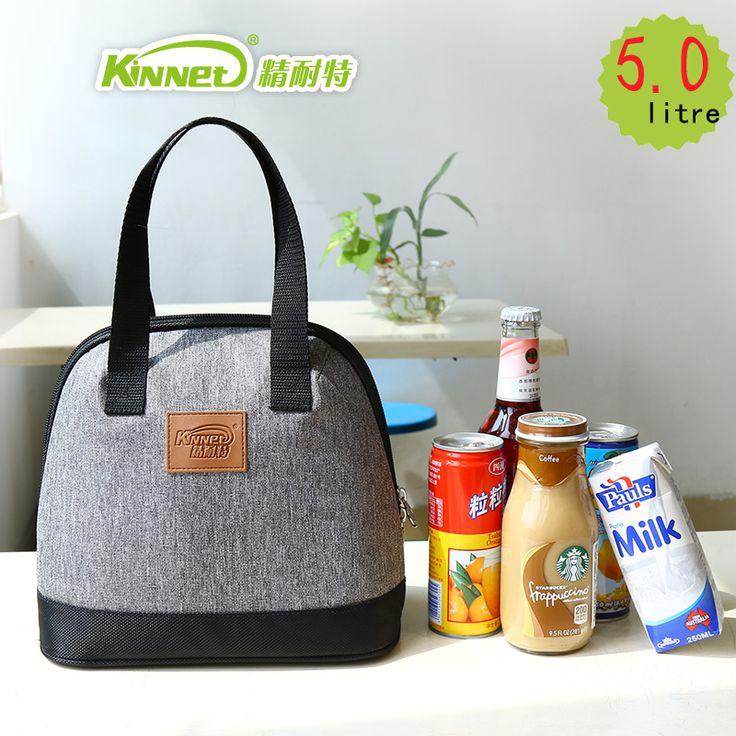 Kinnet sacchetti pranzo per le donne di spessore termico lunch bags for kids foglio di alluminio sacchetto di tote impermeabile portatile isolato sacchetto più freddo