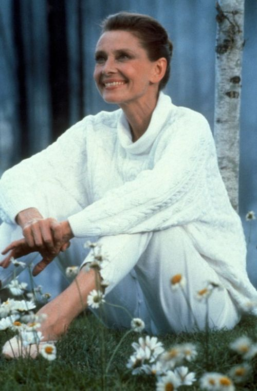 Audrey Later In Life Audrey Hepburn Pinterest Daily