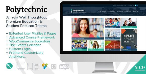 Polytechnic - Powerful Education, Courses & Events  -  https://themekeeper.com/item/wordpress/polytechnic-powerful-education-courses-events