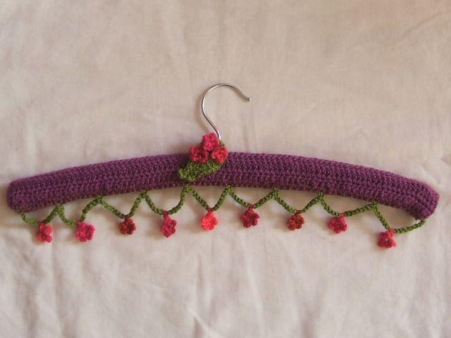 Knitting Coat Hanger Cover Patterns : Beste afbeeldingen over haken hangers crochet