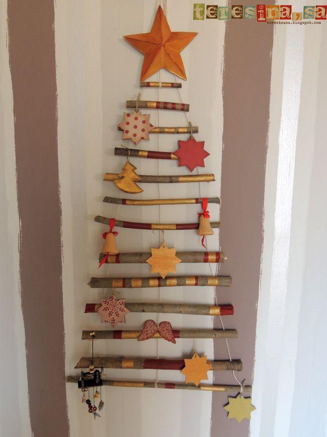 M s de 25 ideas fant sticas sobre puertas decoradas de - Adornos de nadal ...