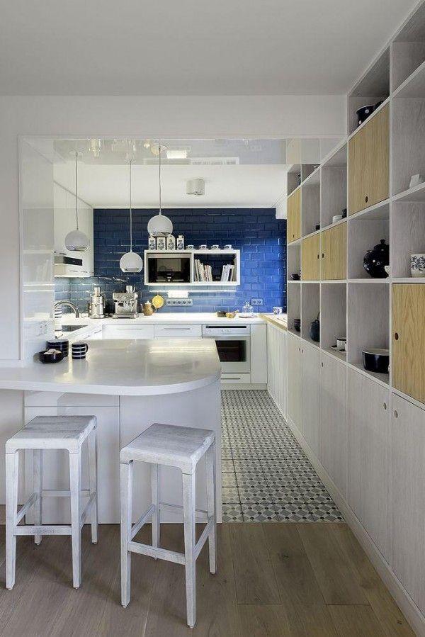 17 mejores imágenes sobre white and blue kitchen en pinterest ...