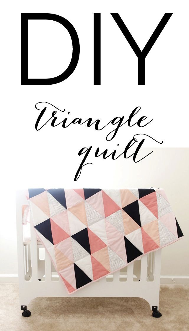 Triangle Quilt DiY Pattern