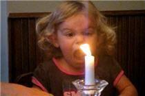 little girl loves rap music