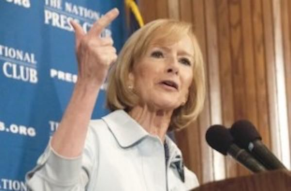 "PBS Judy Woodruff exposed as another Clinton donor....he wake of destruction behind Bill and Hillary Clinton is 25 years wide and deeper than any abyss known to man or beast. The latest victim is ""NewsHour"" anchor Judy Woodruff, and by extension, PBS itself, which now admits to burying the $75,000 Clinton Cash scandal involving ABC News senior anchor George Stephanopoulos."