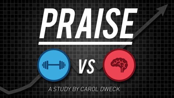 Carol Dweck - A Study on Praise and Mindsets Iedereen die kinderen heeft en met kinderen werkt, zou dit moeten zien!