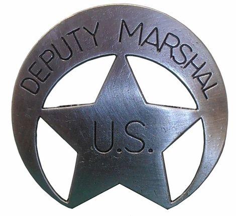United States Deputy Marshal Badge
