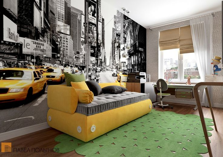 Интерьер комнаты для подростка. Студия Павла Полынова http://polinov.ru / teen room / decor / ideas / by Pevel Polinov Studio #design #interior #homedecor #interiordesign