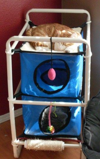 indoor cozy cat bed