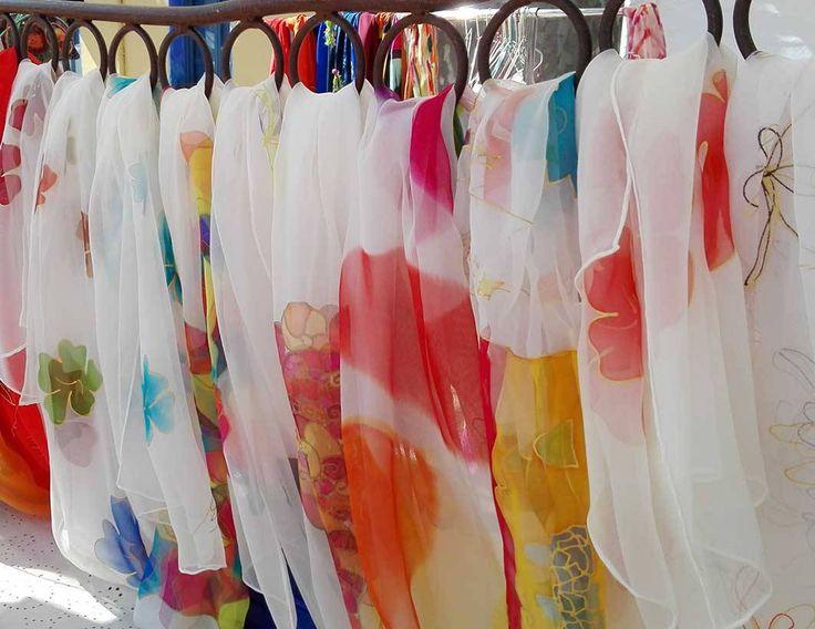 Complementos en seda natural, de Art en Seda.