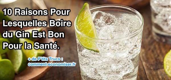 10 Raisons Pour Lesquelles Boire du Gin Est Bon Pour la Santé.