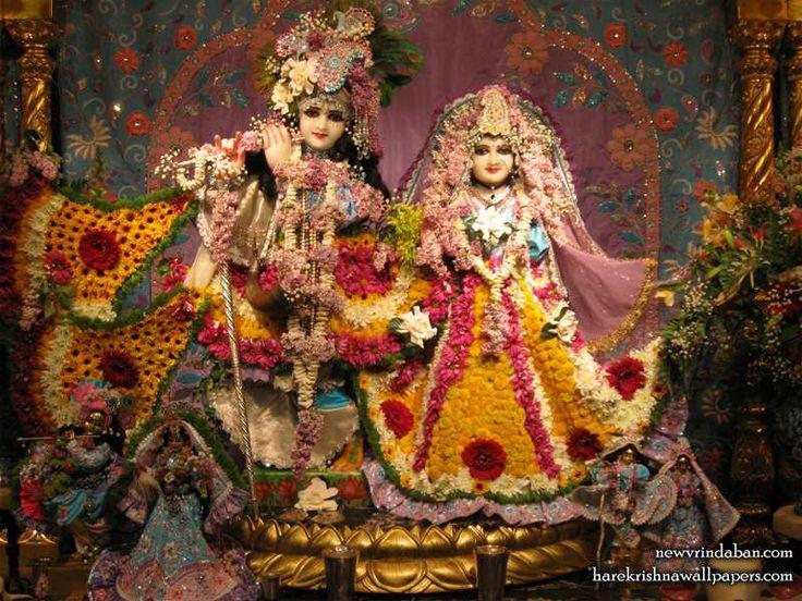 Sri Sri Radha Vrindavana Chandra Wallpaper
