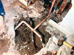 Slab Leak #hot #water #slab #leak http://tablet.nef2.com/slab-leak-hot-water-slab-leak/  # Slab Leak Do you have a slab leak? Was your home built on a concrete slab foundation? If so, that means that your water and sewer lines might have been installed under several inches of concrete. Water and sewer lines under concrete are just like a lot of other things, with time they start to deteriorate and began to leak. This is known as a slab leak. Typical Slab Leak The good news is that repairing…